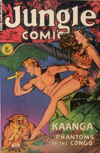 Cover Thumbnail for Jungle Comics (Fiction House, 1940 series) #130