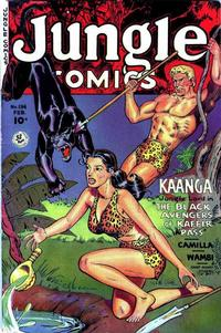 Cover Thumbnail for Jungle Comics (Fiction House, 1940 series) #134