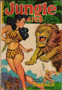 Cover Thumbnail for Jungle Comics (Fiction House, 1940 series) #135