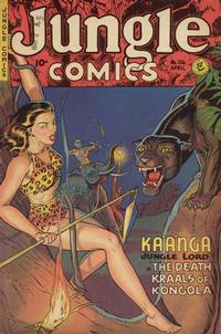 Cover Thumbnail for Jungle Comics (Fiction House, 1940 series) #136
