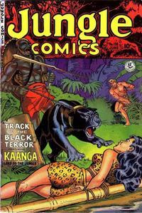 Cover Thumbnail for Jungle Comics (Fiction House, 1940 series) #138