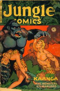 Cover Thumbnail for Jungle Comics (Fiction House, 1940 series) #140