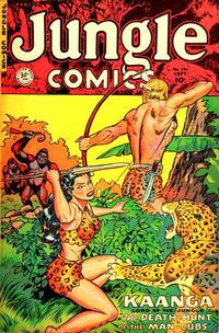 Cover Thumbnail for Jungle Comics (Fiction House, 1940 series) #141