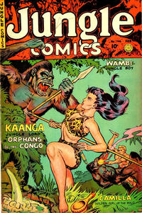Cover Thumbnail for Jungle Comics (Fiction House, 1940 series) #146