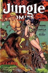 Cover Thumbnail for Jungle Comics (Fiction House, 1940 series) #148