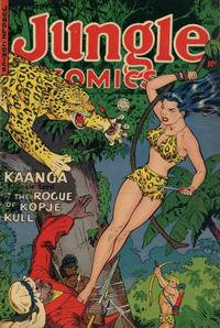 Cover Thumbnail for Jungle Comics (Fiction House, 1940 series) #152