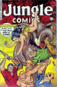 Cover Thumbnail for Jungle Comics (Fiction House, 1940 series) #153