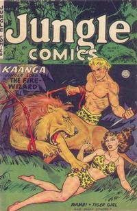Cover Thumbnail for Jungle Comics (Fiction House, 1940 series) #154