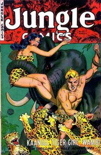 Cover Thumbnail for Jungle Comics (Fiction House, 1940 series) #157