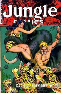 Cover Thumbnail for Jungle Comics (Fiction House, 1940 series) #157
