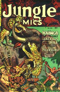 Cover Thumbnail for Jungle Comics (Fiction House, 1940 series) #163