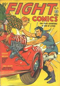 Cover Thumbnail for Fight Comics (Fiction House, 1940 series) #4
