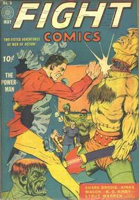 Cover Thumbnail for Fight Comics (Fiction House, 1940 series) #5