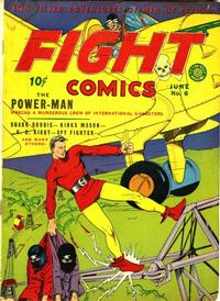 Cover Thumbnail for Fight Comics (Fiction House, 1940 series) #6