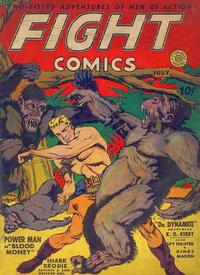 Cover Thumbnail for Fight Comics (Fiction House, 1940 series) #7