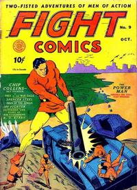 Cover Thumbnail for Fight Comics (Fiction House, 1940 series) #9