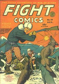 Cover Thumbnail for Fight Comics (Fiction House, 1940 series) #10
