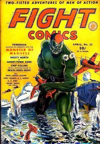 Cover Thumbnail for Fight Comics (Fiction House, 1940 series) #12