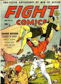 Cover Thumbnail for Fight Comics (Fiction House, 1940 series) #14