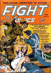 Cover Thumbnail for Fight Comics (Fiction House, 1940 series) #19