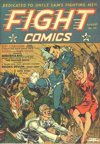 Cover Thumbnail for Fight Comics (Fiction House, 1940 series) #20