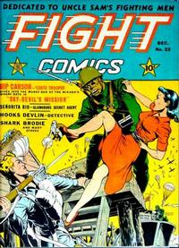 Cover Thumbnail for Fight Comics (Fiction House, 1940 series) #22