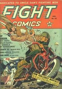Cover Thumbnail for Fight Comics (Fiction House, 1940 series) #23
