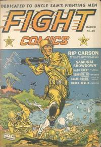 Cover Thumbnail for Fight Comics (Fiction House, 1940 series) #25
