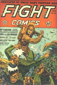 Cover Thumbnail for Fight Comics (Fiction House, 1940 series) #26