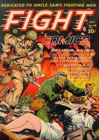 Cover Thumbnail for Fight Comics (Fiction House, 1940 series) #28