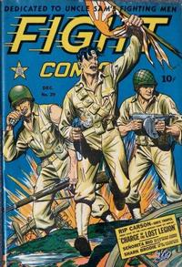 Cover Thumbnail for Fight Comics (Fiction House, 1940 series) #29