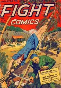 Cover Thumbnail for Fight Comics (Fiction House, 1940 series) #30