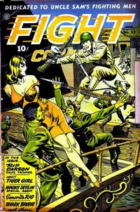 Cover Thumbnail for Fight Comics (Fiction House, 1940 series) #33