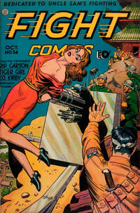 Cover Thumbnail for Fight Comics (Fiction House, 1940 series) #34