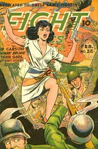 Cover Thumbnail for Fight Comics (Fiction House, 1940 series) #36