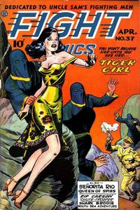 Cover Thumbnail for Fight Comics (Fiction House, 1940 series) #37