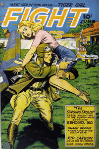 Cover Thumbnail for Fight Comics (Fiction House, 1940 series) #38