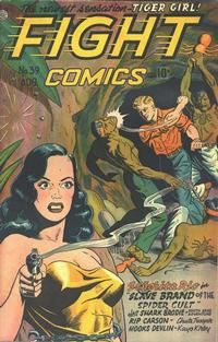 Cover Thumbnail for Fight Comics (Fiction House, 1940 series) #39