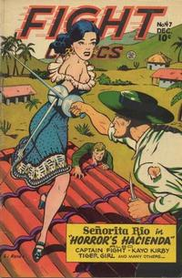 Cover Thumbnail for Fight Comics (Fiction House, 1940 series) #47