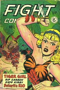 Cover Thumbnail for Fight Comics (Fiction House, 1940 series) #58