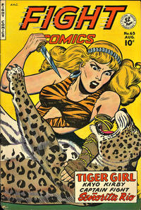 Cover Thumbnail for Fight Comics (Fiction House, 1940 series) #63