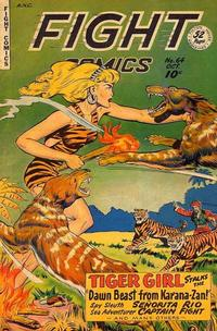 Cover Thumbnail for Fight Comics (Fiction House, 1940 series) #64