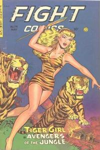 Cover Thumbnail for Fight Comics (Fiction House, 1940 series) #74