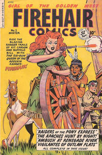 Cover Thumbnail for Firehair Comics (Fiction House, 1948 series) #2