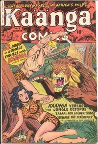 Cover Thumbnail for Kaänga Comics (Fiction House, 1949 series) #2