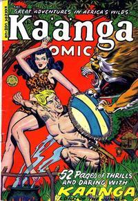 Cover Thumbnail for Kaänga Comics (Fiction House, 1949 series) #3