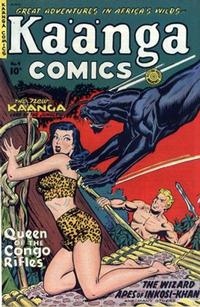 Cover Thumbnail for Kaänga Comics (Fiction House, 1949 series) #4