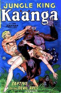 Cover Thumbnail for Kaänga Comics (Fiction House, 1949 series) #6