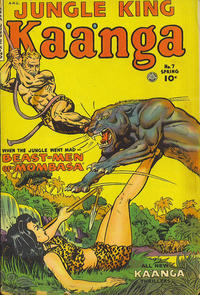 Cover Thumbnail for Kaänga Comics (Fiction House, 1949 series) #7