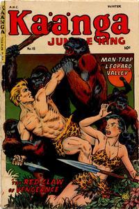 Cover Thumbnail for Kaänga Comics (Fiction House, 1949 series) #18